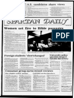 Spartan Daily March 8 1983