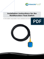 RainFlo Float Switch Manual