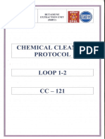 CC - 121 Pre - Passivation Report