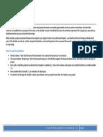 Project Checklist v6