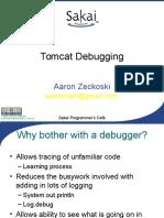 Tomcat Debugging
