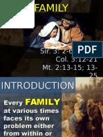 Dec 30 Holy Family 2016 Homily