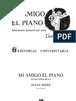 WAISS, E. - Mi Amigo El Piano