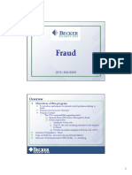 Becker - Fraud Risks Presentation Slides