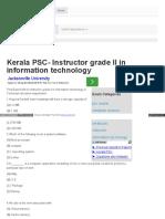 Previousquestion Com Question Kerala Psc Instructor Grade i