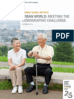 Urban World Demographic Challenge Full Report