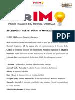 PrIMO 2017 - Le Opere in Gara