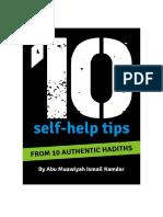 10 Hadiths on Self-help pdf