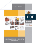 Contratista de Obra Civil - Módulo Técnico