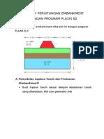 Contoh Perhitungan Tanah Timbunan-plaxis 8.2