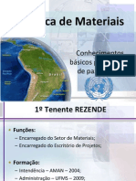 Logística de Materiais para o HAITI
