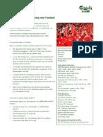 Carlsberg and Football Factsheet