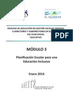 Mod 3 Directores Planificacion