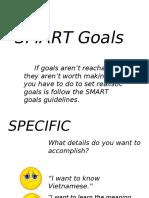 F. 3.1 SMART Goals [Lecture]