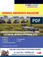 Download General Awareness Magazine Vol 26 August 2016 Www.bankexamportal.com