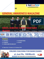 Download General Awareness Magazine Vol 29 November 2016 Www.bankexamportal.com (2)