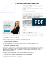 Top 150 Software Testing Interview Questions