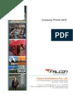 Falcon Exhibitions Pvt. Ltd - 2016 Company Profile