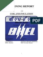 Bhel Haridwar- Training report - 800 MW bar CIM block 4 (EEE)