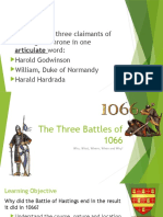 The Three Battles of 1066