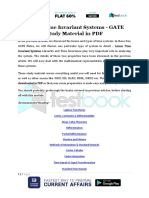 Linear Time Invariant Systems - GATE Study Material in PDF