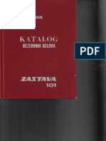 Zastava 101 Katalog Delova