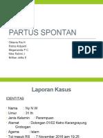 Partus Spontan 1 Ppt