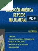 Simulacion Numerica de Pozos Multilaterales