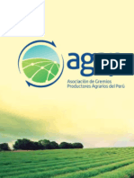 CONTRIBUCIÓN E IMPACTOS DE LA AGRICULTURA MODERNA AL DESARROLLO DEL PERÚ