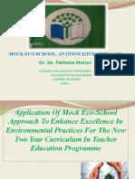 Mock Eco School
