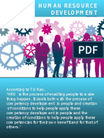 Human Resource Development Ppt for Students