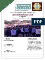 Universal Transformer Maintenance & Repairing Training Report