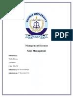 Sales Management ASG