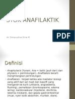 syok anafilaktik