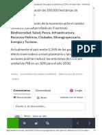 Conoce La Propuesta de Chile Para La Conferencia COP21 en Este Video - VeoVerde