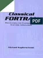 Classical Fortran - Kupferschmi