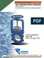 Ramus VGR gate valve catalog
