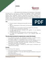 Computing Policy 2015