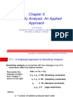 Ch 05 Sensitivity Analysis an Applied Approach