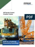 All Terrain Cranes - Crawler Cranes