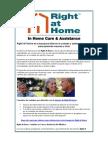Right at Home | Franquicia de Servicios en El Hogar