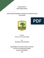 Analisis Komposisi Kimia EG