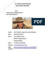 2017 RALLY FOR JUSTICE FOR LAVOY FINICUM