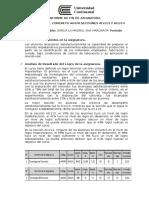 Informe de Fin de Asignatura Tecnologia Del Concreto Ana Garcia 2016-2