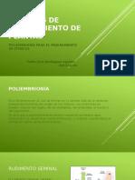 Métodos de Mejoramiento de Citricos. Poliembrionia