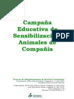 Campaña Educativa Sensibilización Animales Compañía