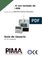 Alarma Rx 406