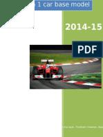 Formula 1 Car Base Model