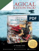 Harry Potter Illustrated Edition Celebration Pack