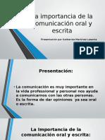 La Importancia de La Comunicació..